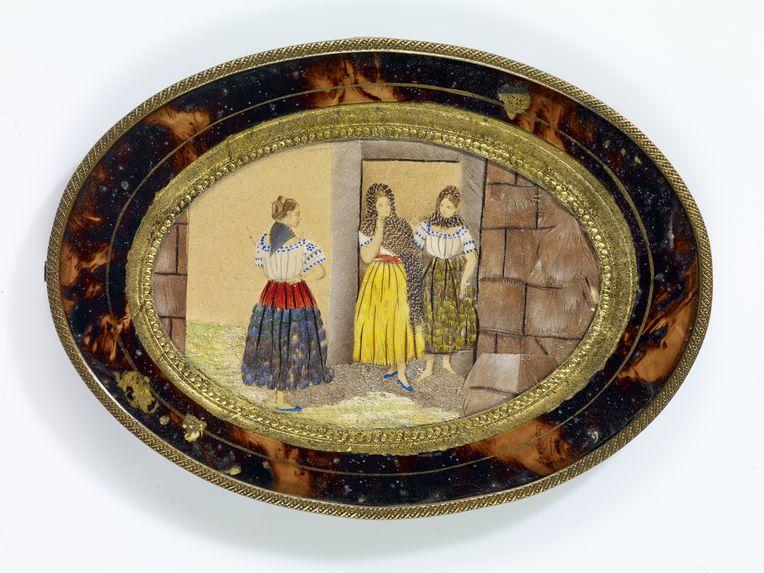 Groupe de trois femmes