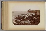 Baia - Campania, panorama col Castello e vista dei Bagnoli