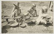 Scènes et Types - Marchands de plats Arabes