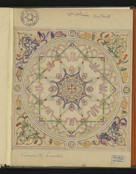 Album d'honneur de dessins du collège Moulay Idriss de Fès
