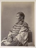 Wa-Hu'-Wa-Pa. Ear of Corn. (Squaw of Lone Wolf. Profile.) Ogalalla