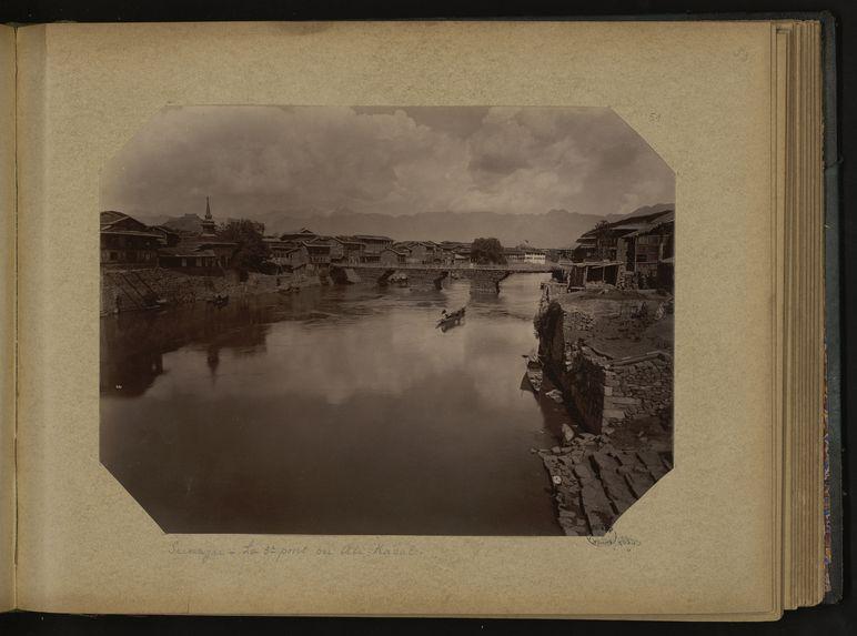 Srinagar, le 5e pont ou Ali-Kadal