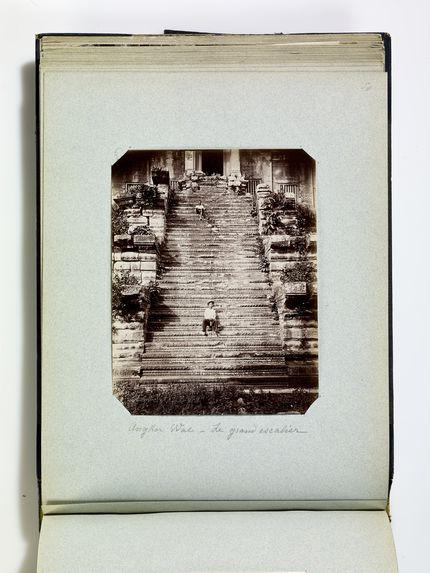 Angkor Wat - Le grand escalier