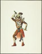Plate VIII. Hahai wuhti Kachina