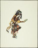 Plate XVII. Hote Kachina