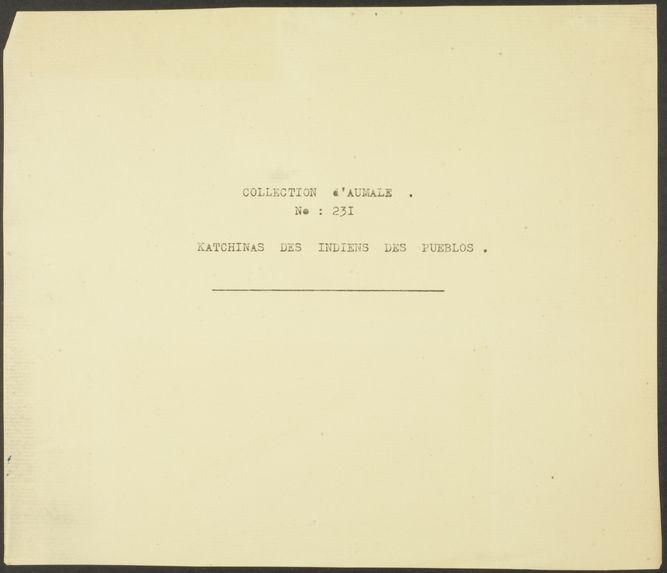 Plate XV. Hemis Kachina mana