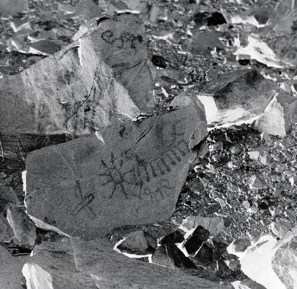 Pétroglyphes de Chekta, Rio Chillon (dépt. de Lima)