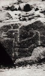 Vue de gravures rupestres, Pérou