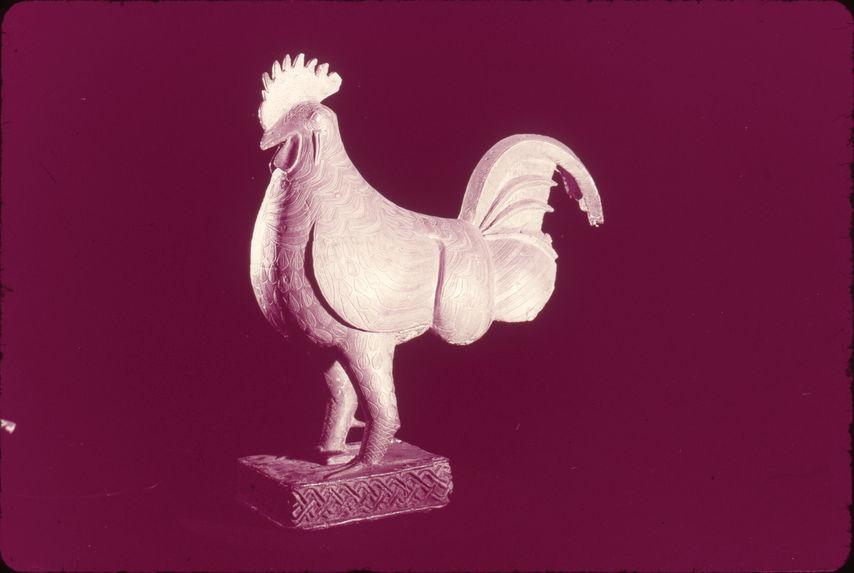 Coq en bronze