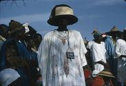 Sans titre [portrait d'un homme portant un grand chapeau de paille]