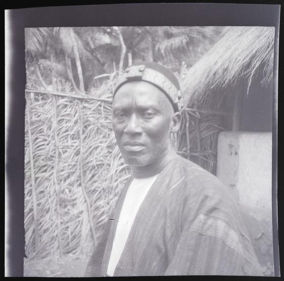 Le chef de canton Baga