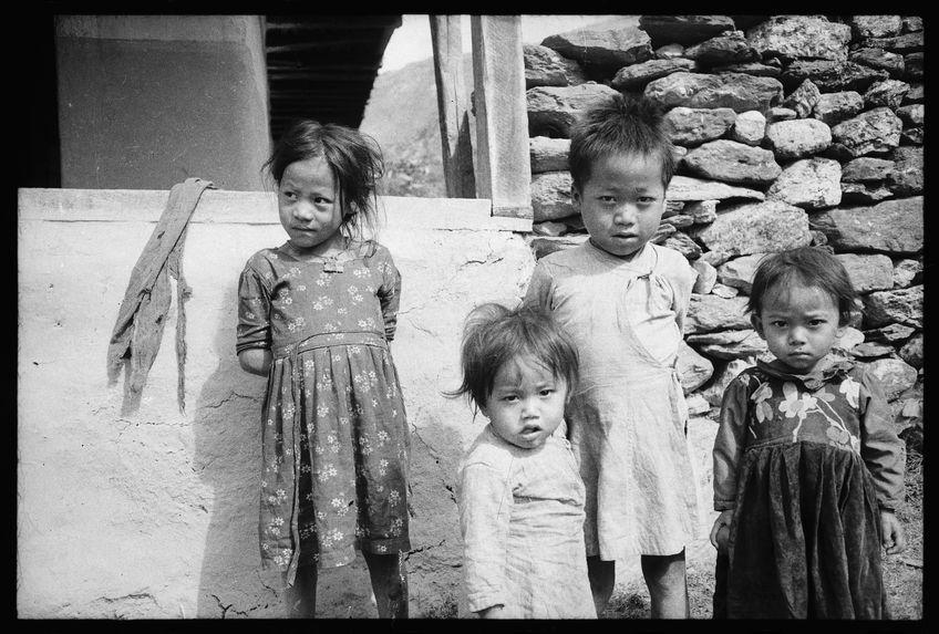 Enfants limbu