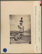 Indien Chumash en costume