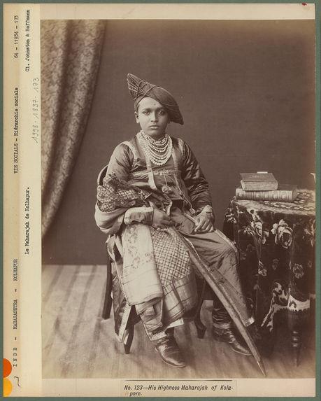 Le Maharajah de Kolhapur