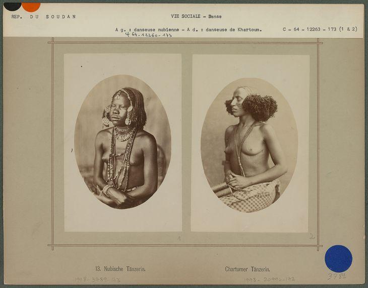 Danseuse nubienne