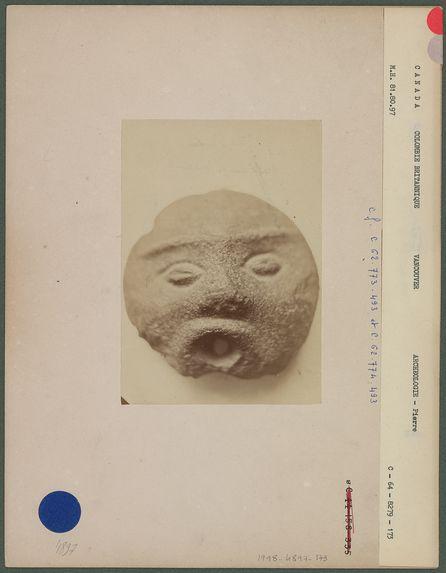 Tête sculptée Schellmound