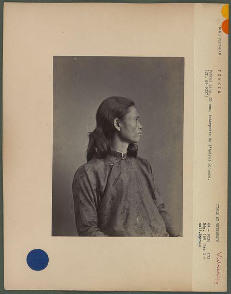 Petrus-Sang, 35 ans, Annamite du Tonkin