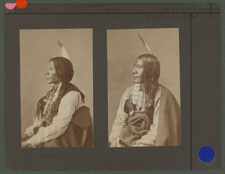 Type d'indien Dakota