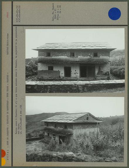 Maison newar à Bhandar