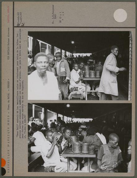 """""""Beer Hall"""", endroit où les travailleurs noirs se réunissent pour boire de la bière"""