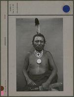 Sans titre [Portrait d'homme amérindien]
