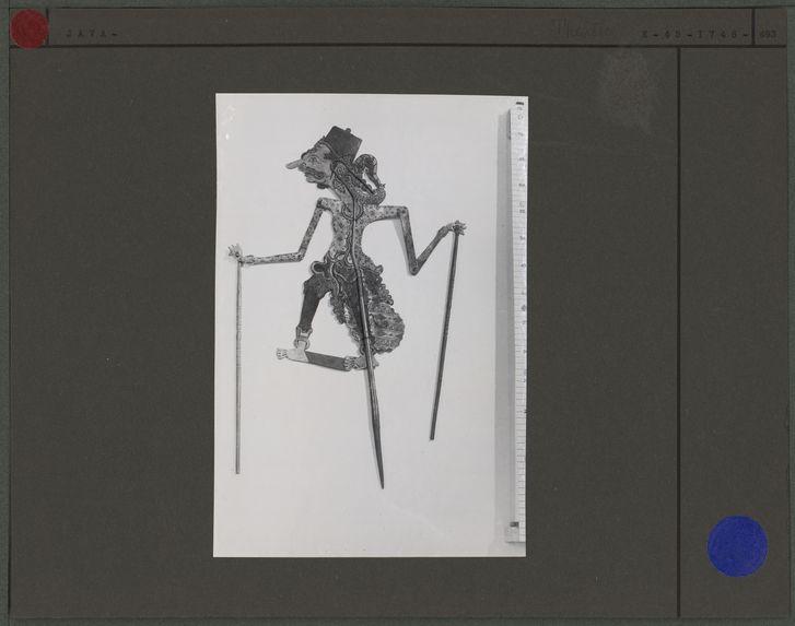 Marionnette de Wayang Kulit : Pati Ketjankan