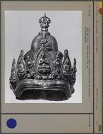 Bonnet en laiton pour statue de Bouddha