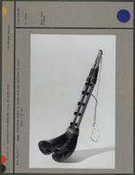 Clarinette double en roseau