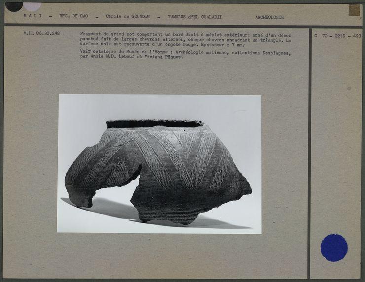 Fragment de grand pot
