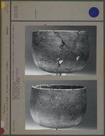 Bol sub-cylindrique, à fond plat