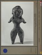Figurine féminine en céramique