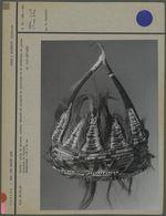 Coiffe avec cornes, perles, crins