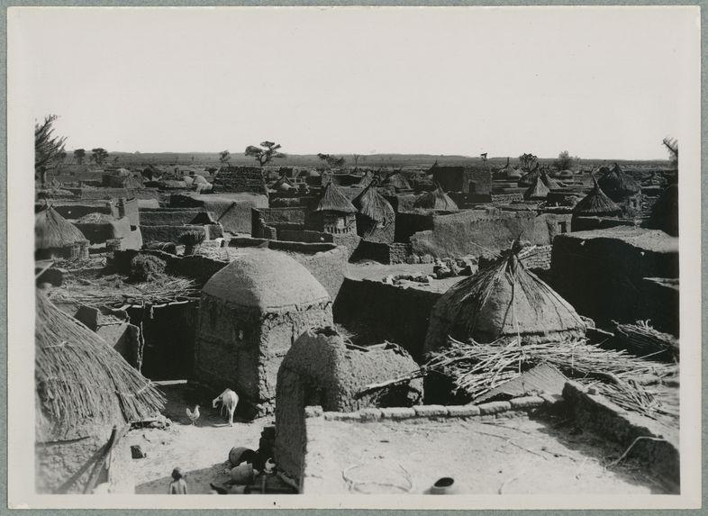 Bandiagara. Vue générale du village