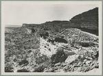 La falaise aux environs de Sanga