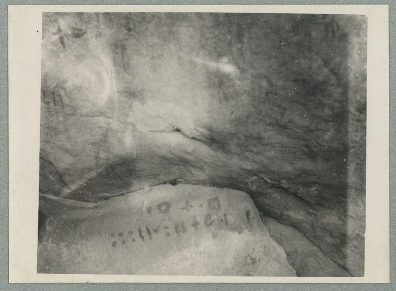Inscription et peintures rupestres