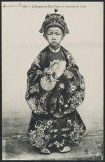 L'empereur Duy-Than en costume de cour