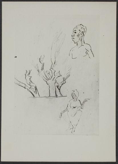 Crayon de Gauguin, Antilles