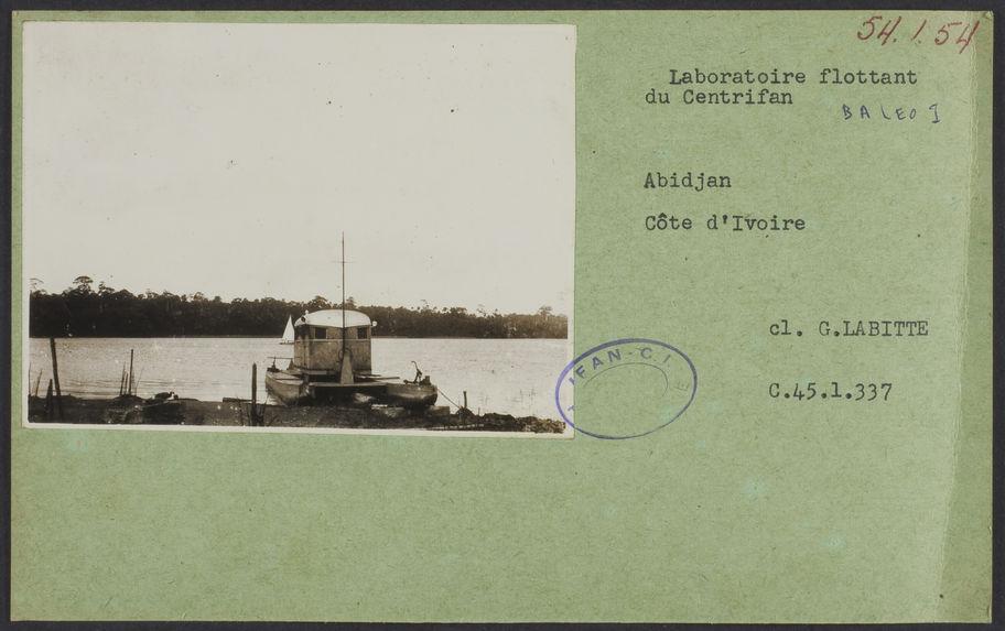Laboratoire flottant du Centrifan