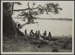 Sans titre [sur la lagune. Mission IFAN Dekeyser-Holas au Libéria en 1948]
