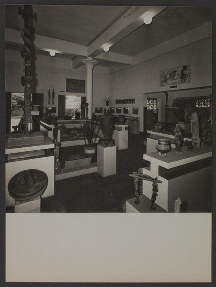 Sans titre [salle d'exposition, musée d'Abidjan de Côte d'Ivoire]