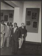 Sans titre [visite officielle au musée de la Côte d'Ivoire à Abidjan, à...