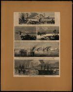 Prise de Mytho, capitale basse Cochinchine, par la division navale du...