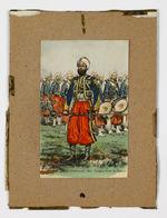 Garde impériale 1863. Tambour-Major des Zouaves