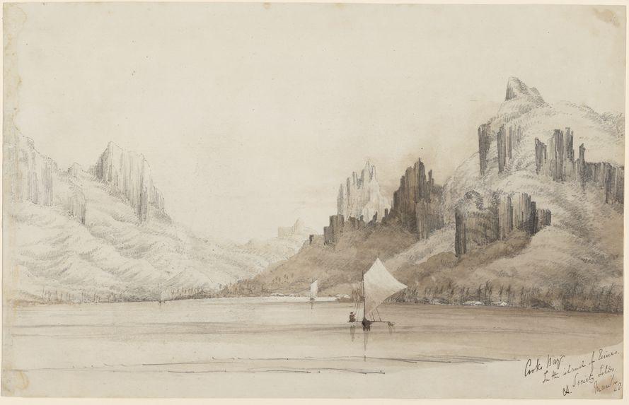 Baie de Cook à Eimeo