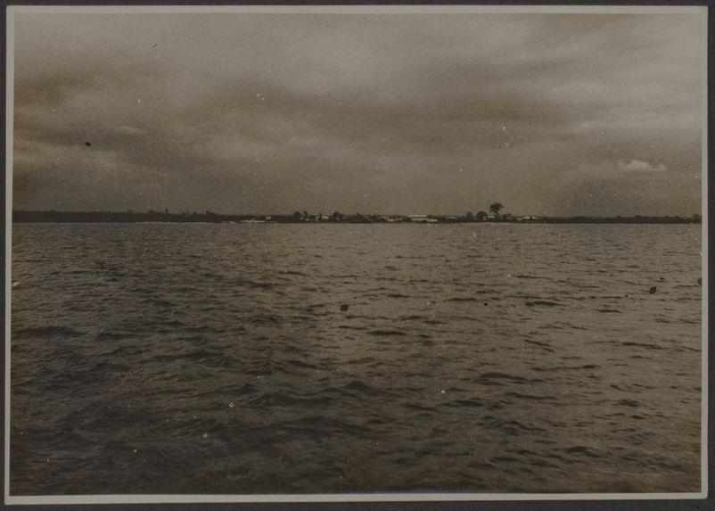 Abidjan vue du large, Côte d'Ivoire
