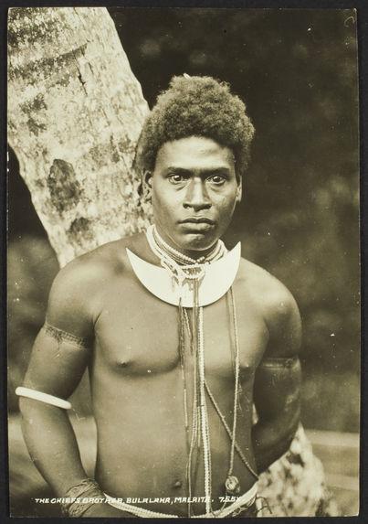 The chief's brother, Bulalaha, Malaita