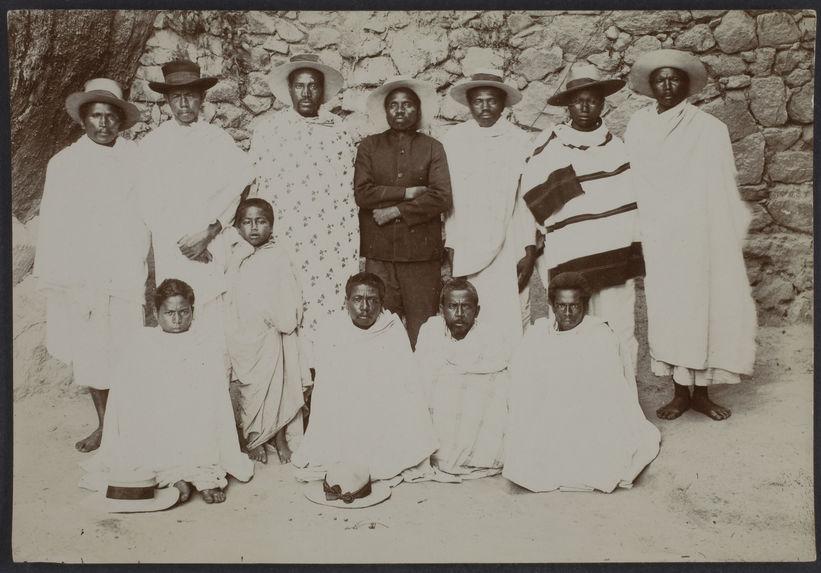 Rainibetsimisaraka chef rebelle et ses lieutenants