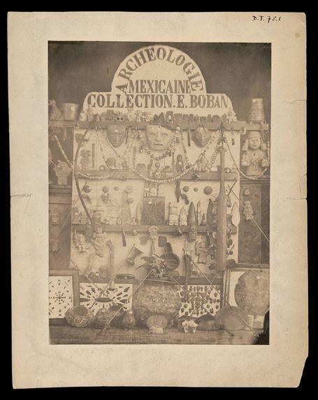 """""""Archéologie Mexicaine Collection E. Boban&quot"""