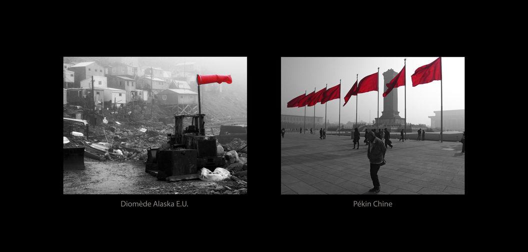 Diomède Alaska E.U. - Pékin Chine