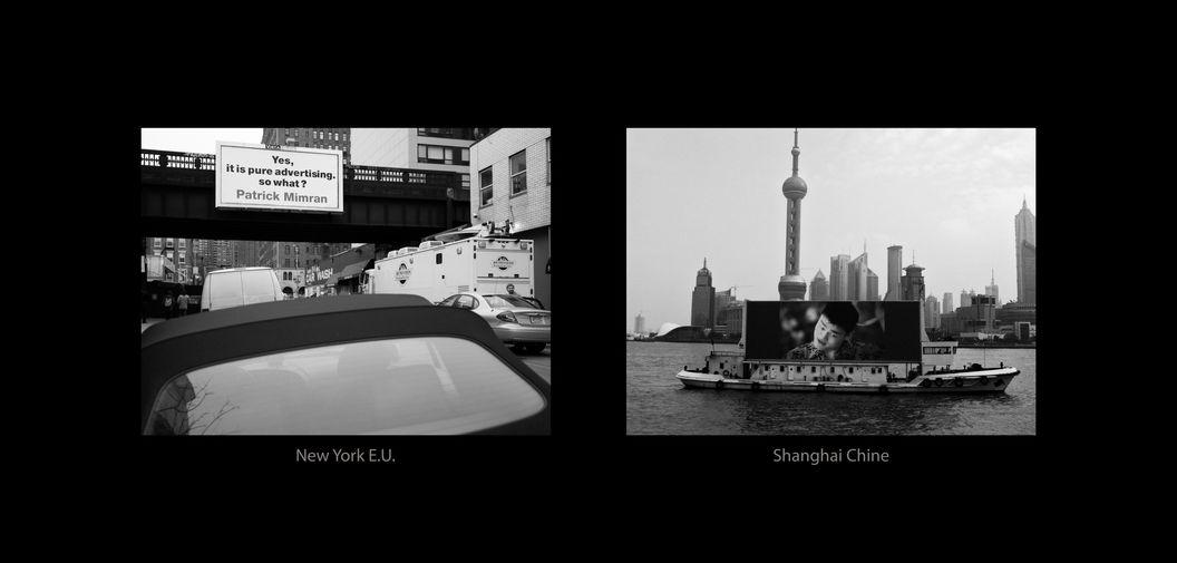 New-York E.U. - Shanghai Chine